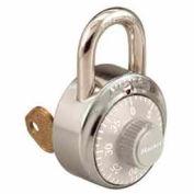 Master Lock® General Security Combo Padlock, Key Control, Grey dial