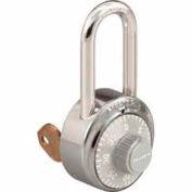 Master Lock® General Security Combo Padlock, Key Control, LF Shackle, Grey