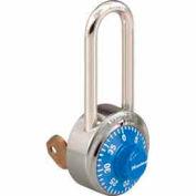 Master Lock® General Security Combo Padlock, Key Control, Blue