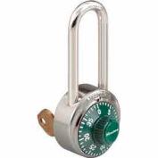 Master Lock® General Security Combo Padlock, Key Control, Green