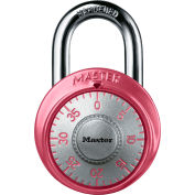 Master Lock® No. 1530DPNK Pink Combination Padlock - Pkg Qty 24