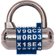 Master Lock® Password Plus™ Combination Lock - No. 1534d - Pkg Qty 16