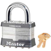 Master Lock® General Security Laminated Padlocks - No. 15ka - Pkg Qty 24