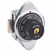 Master Lock® Built-In Combination Lock Black Dial, Right Hinged