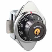 Master Lock® Built-In Combination Lock with Metal Dial, Right Hinged