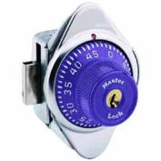 Master Lock® Built-In Combination Lock Purple Dial, Right Hinged