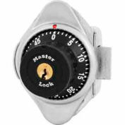 Master Lock® No. 1653MD Built-In Combination Lock with long bolt - Metal Dial - Left Hinged