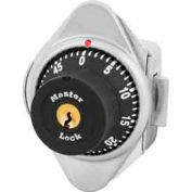 Master Lock® No. 1655MD Built-In Combo Lock for Horizontal Latch Box Locker - Metal Dial - LH