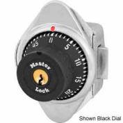Master Lock® Built-In Combo Lock for Horizontal Latch Box Locker, Blue Dial, LH