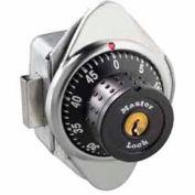 Master Lock® Built-In Combination Deadbolt Lock, Metal Dial, Right Hinged