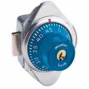 Master Lock® Built-In Combination Deadbolt Lock, Blue Dial, Right Hinged