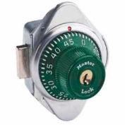 Master Lock® Built-In Combination Deadbolt Lock, Green Dial, Right Hinged