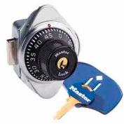 Master Lock® Built-In Combo Lock, ADA Compliant, Latch & Lift Handle-Black