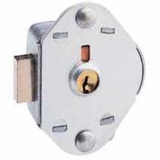 Master Lock&#174: No. 1710KA Built-In Key Operated Manual Deadbolt Locking Lock Keyed Alike