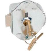 Master Lock&#174: No. 1710MK Built-In Key Operated - Manual Deadbolt Locking Lock Master Keyed