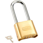 Master Lock® No. 175LH Bottom Resettable Combination Padlocks - Pkg Qty 3