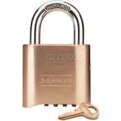 Master Lock® No. 176 Bottom Resettable Combination Padlocks - Pkg Qty 36