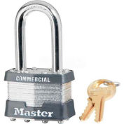 Master Lock® General Security Laminated Padlocks, Keyed Alike - No. 1kalf - Pkg Qty 3