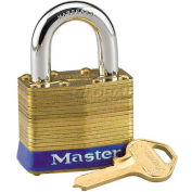 Master Lock® General Security Laminated Padlocks - No. 24ka - Pkg Qty 24