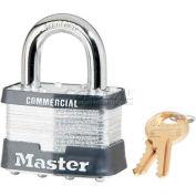 Master Lock® General Security Laminated Padlocks - No. 25ka - Pkg Qty 24
