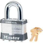 Master Lock® General Security Laminated Padlocks - No. 27ka - Pkg Qty 24