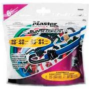 Master Lock® 3026DAT Reverse Twin Wire Bungee, 6 Pcs. - Pkg Qty 6
