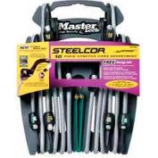 Master Lock® 3041DATSC SteelCor™ Bungee Cord Organizer, 10 Pcs.