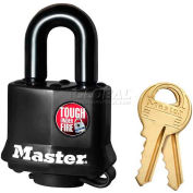 Master Lock® No. 311KA General Security Weather Resistant Covered Laminated Padlocks - Pkg Qty 24