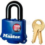 Master Lock® General Security Weather Resistant Covered Laminated Padlocks - No. 312ka - Pkg Qty 24