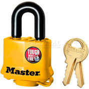 Master Lock® General Security Weather Resistant Covered Laminated Padlocks - No. 315ka - Pkg Qty 24