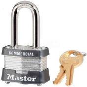 Master Lock® No. 3MKLF General Security Laminated Padlocks with Master Keyed System - Pkg Qty 24