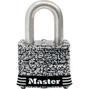 "Master Lock® General Security Laminated Padlock - No. 3SSKADHC - 3/4"" Shackle - Pkg Qty 6"