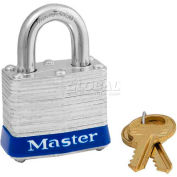 Master Lock® Universal Pin Laminated Padlocks - No. 3up - Pkg Qty 24