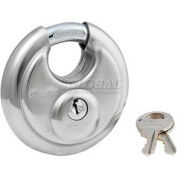 Master Lock® No. 40DPF Shrouded Padlock Keyed Differently - Pkg Qty 4