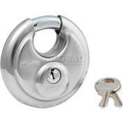 Master Lock® No. 40DPF Shrouded Padlock Keyed Differently - Pkg Qty 4