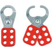 "Master Lock® Steel Lockout Hasp, Steel, 1"" Jaw Clearance, 420"