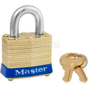 Master Lock® General Security Laminated Padlocks - No. 4ka - Pkg Qty 24