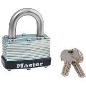 Master Lock® No. 500KA Warded Laminated Padlocks - Pkg Qty 12