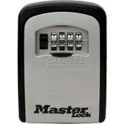 Master Lock® No. 5401D 4-Digit Locking Combination Wall Mount Keylock Box - Holds 1-5 Keys