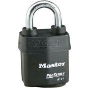Master Lock® High Security Steel Weather Resistant Covered Laminated Padlocks - No. 6121 - Pkg Qty 24