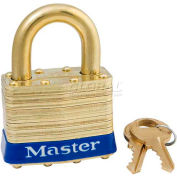 Master Lock® General Security Laminated Padlocks - No. 6kab - Pkg Qty 24