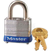 Master Lock® No. 7MK General Security Laminated Padlocks with Master Keyed System - Pkg Qty 24
