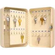 """Master Lock® Key Storage Cabinet, Holds 48-Keys, 9-7/8""""W x 3""""D x 7""""H, with 2 Keys"""