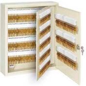 "Master Lock® Heavy Duty Key Cabinet, Holds 330-Keys, 20""W x 5""D x 16.5""H, with 2 Keys"