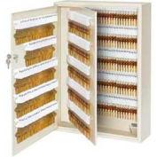 "Master Lock® Heavy Duty Key Cabinet, Holds 500-Keys, 25-1/2""W x 5-1/2""D x 18""H, with 2 Keys"