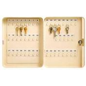 """Master Lock® Key Storage Cabinet, Holds 45-Keys, 11-3/4""""W x 3""""D x 6-1/4""""H, with 2 Keys"""