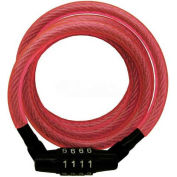 Master Lock® Pink Cable Combo Lock - No. 8143DPNK - Pkg Qty 24