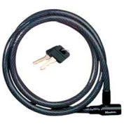 "Master Lock® Cable with Integrated Keyed Lock, 6'L, 5/8"" Dia."
