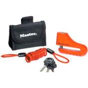 "Master Lock® No. 8304DPS Disc Brake Lock - 3"" - Pkg Qty 4"