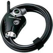 "Master Lock® No. 8428DPS Python™ Adjustable Cable Lock - 6'L x 3/8""W"